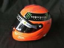 Schuberth 1:2 Mini F1 casco de Michael Schumacher Spa Gold 2011