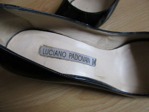 76 À Taille Escarpin Noir Padovan Luciano 35 XaRnFWqY8T