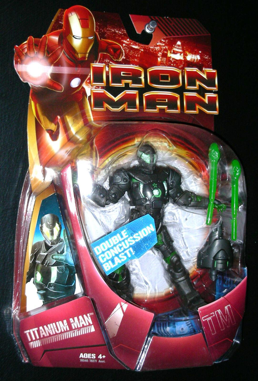Hasbro Marvel Titanium Man from Iron Man Movie Figure series NEW 2008