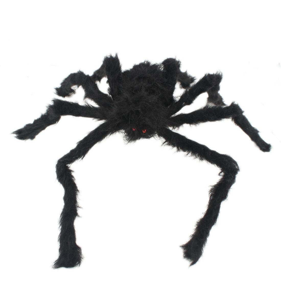 Rot Und Schwarz S6E2 75Cm GrossE Spinne PlueSch-Spielzeug Halloween-Dekor