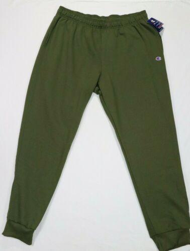 Champion Men/'s Powerblend Fleece Joggers Hiker Green Size 2XL