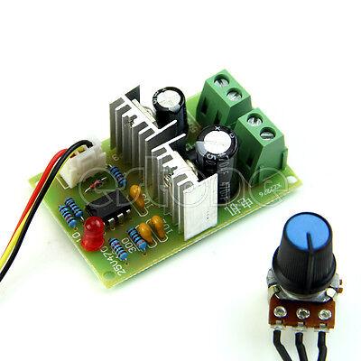 3A Pulse Width PWM DC Motor Speed Regulator Controller Switch 12V/24V/36V