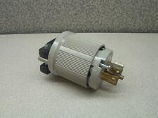 ARROW HART 6444 Gray Locking Connector Plug  20a 120//208v 3PH 4P 4W  53N