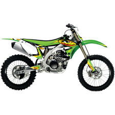 KAWASAKI KXF 450 ONE INDUSTRIES FMF GRAPHICS STICKER KIT KX450F 12 13 14 15