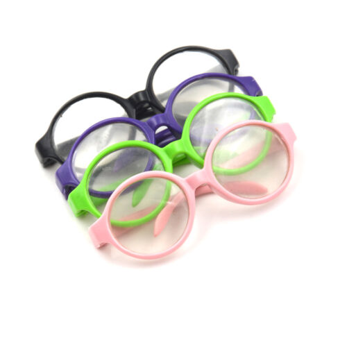Girl Dolls Stylish Plastic glasses 18 inch Doll Accessories Baby P0CAMECA