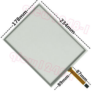 """1 PCS Brand New Universal 10.4/"""" Inch 4-Wire Touch Screen Glass 225X173mm"""