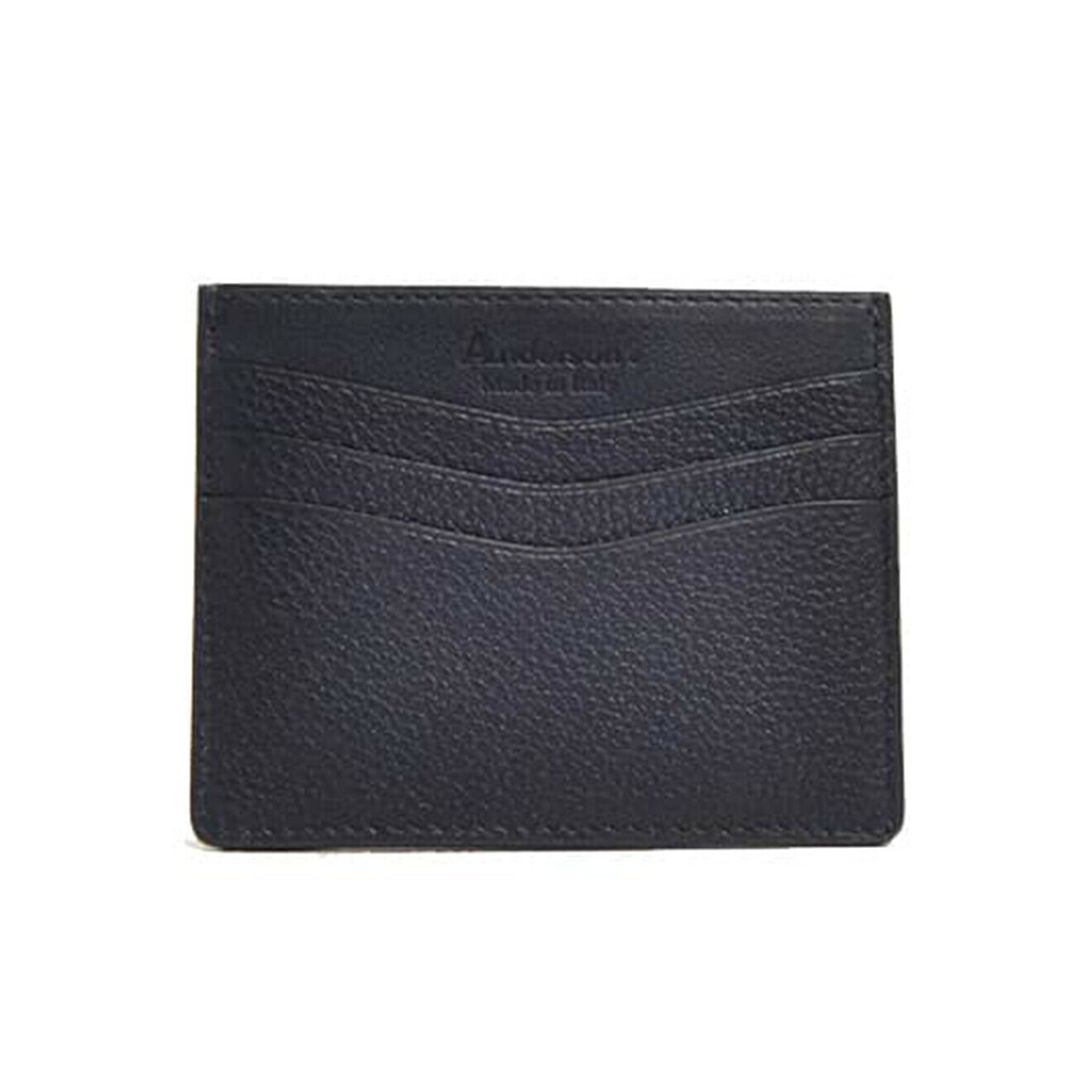 Andersons Leather Card Holder Navy - SALE!!