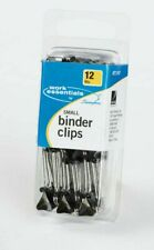 Acco Small Binder Clips 12 Each Durable Metal Arms Hold Large Quantity 71747 New