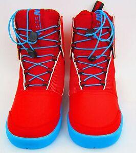 Hyperlite Webb Men S Wakeboard Boot Red Blue Size 7
