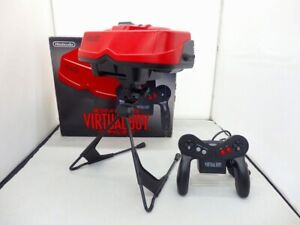 Nintendo-Virtual-Boy-Console-with-BOX-034-Good-Condetion-Complete-Mario-USED