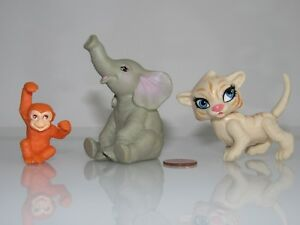 TINY-TIGER-MONKEY-ELEPHANT-ANIMALS-FOR-FITS-DOLLHOUSE-MATTEL-BARBIE-KELLY-DOLL
