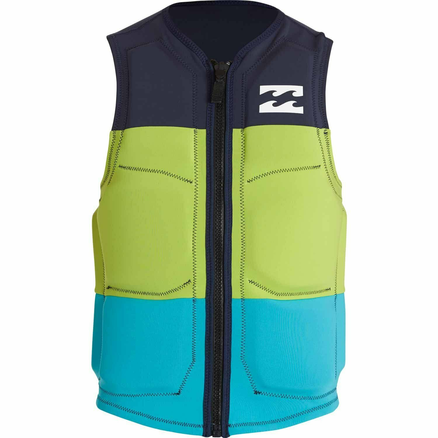 BILLABONG TRI BONG COMPETITION LIFE VEST PFD WAKEBOARDING & WATERSKIING S M L XL