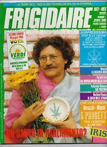 FRIGIDAIRE N.101-103 - PRIMO CARNERA - 1989 - Italia - FRIGIDAIRE N.101-103 - PRIMO CARNERA - 1989 - Italia