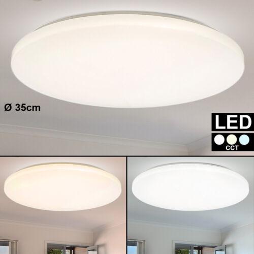 LED Decken Leuchte CCT Tageslicht Strahler Schlaf Gäste Zimmer Design Lampe 35cm