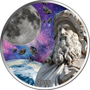 5-Cedis-Ghana-2019-Leonardo-da-Vinci-heliocentric-theory-III-2019