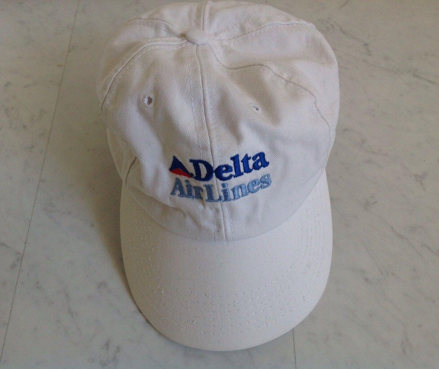 Sehr selten! Delta AirLines Cap / Made in USA, unisex, Einheitsgröße