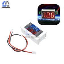 3 Digital Dual Redblue Led Display Voltage Voltmeter Ammeter Meter 4 30v100v