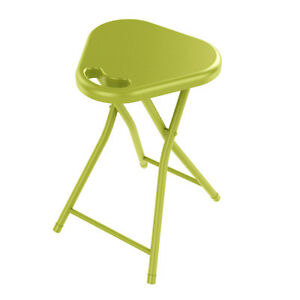 Atlantic Folding Stool w/Handle In Lime Green - 4 Pack 67336092 Stool  NEW