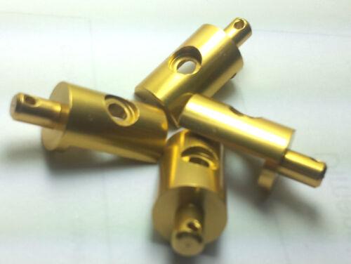 gold alloy body mount for tamiya LunchBox cw01