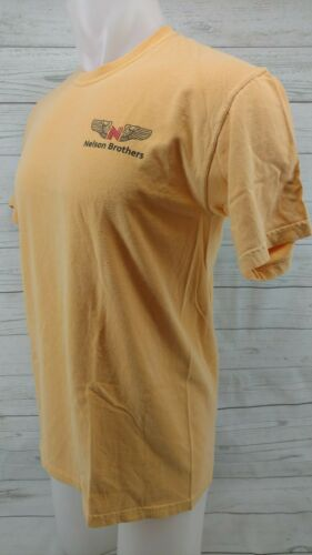 Nelson Brothers N40NB Lear Jet Yellow Shirt Size M