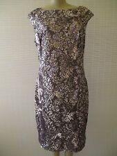 LAUREN RALPH LAUREN GRAY SEQUIN SLEEVELESS COCTAIL DRESS SIZE 16 - NWT