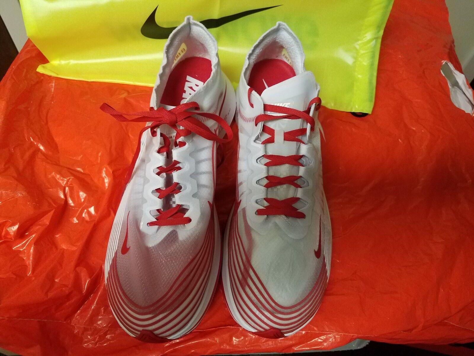 Nike zoom fly bianco sp Uomo correndo la formazione bianco fly rosso aj9282-100 Uomo 11,5 tokyo ec093f