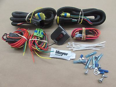 new genuine meyer snow plow head light wiring kit for the. Black Bedroom Furniture Sets. Home Design Ideas
