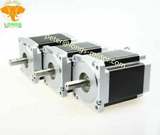 118mm Length for CNC Router Mill Lathe Black HobbyUnlimited Nema 34 Stepper Motor 6A 8.5Nm 1200 oz-in