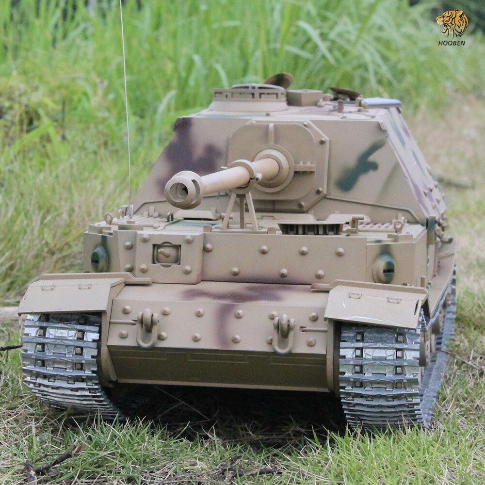 Hooben German Elefant Tank Destroyer JAGDPANZER Ferdinand 1 16 Static Tanks Kit