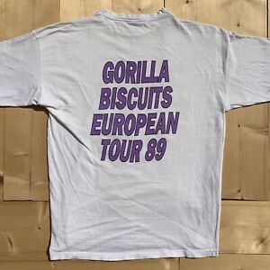 Vintage-Gorilla-Biscuits-1989-Start-Today-Tour-T-Shirt-Judge-Youth-Of-Today