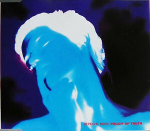 FRENCH-CD-SINGLE-DEPECHE-MODE-POLICY-OF-TRUTH-SLIM-CASE-COLLECTOR-VIRGIN-1990
