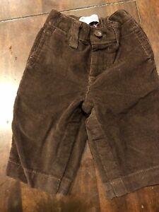 0b414f9b85 Details about NWT New GAP Baby Boy 3-6 Months Dark Brown Corduroy Pants Reg  $29