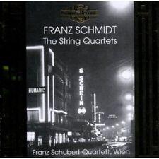 Franz Schubert Quartett, Schmidt, F. Schmidt - String Quartets [New CD]