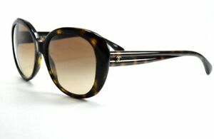 a969223a05652 Chanel Sunglasses 5312 714 S5 Black Beige Butterfly   Gradient Brown ...