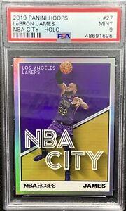 Panini-Hoops-Lebron-James-NBA-City-Holo-Silver-PSA-9-SSP-Pop-6
