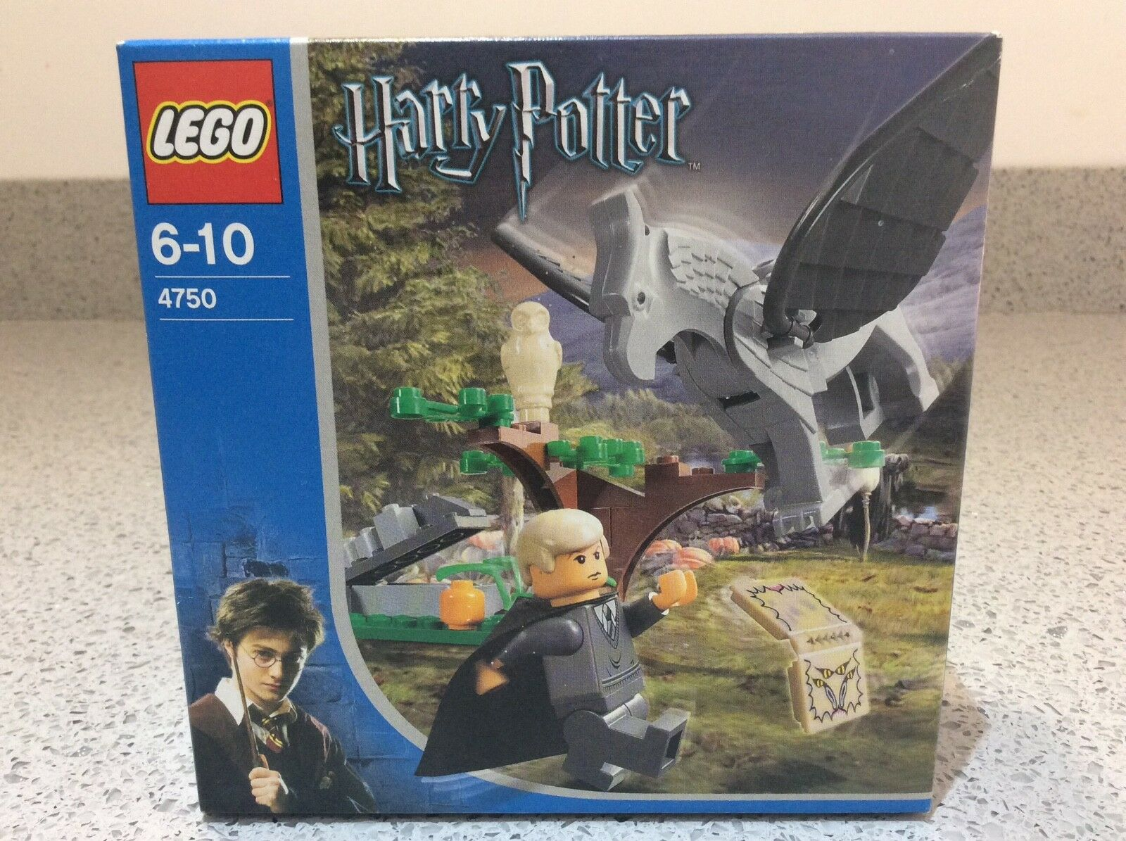 Lego HARRY POTTER    4750 Draco's Encounter with Buckbeak - BRAND NEW & SEALED e98720
