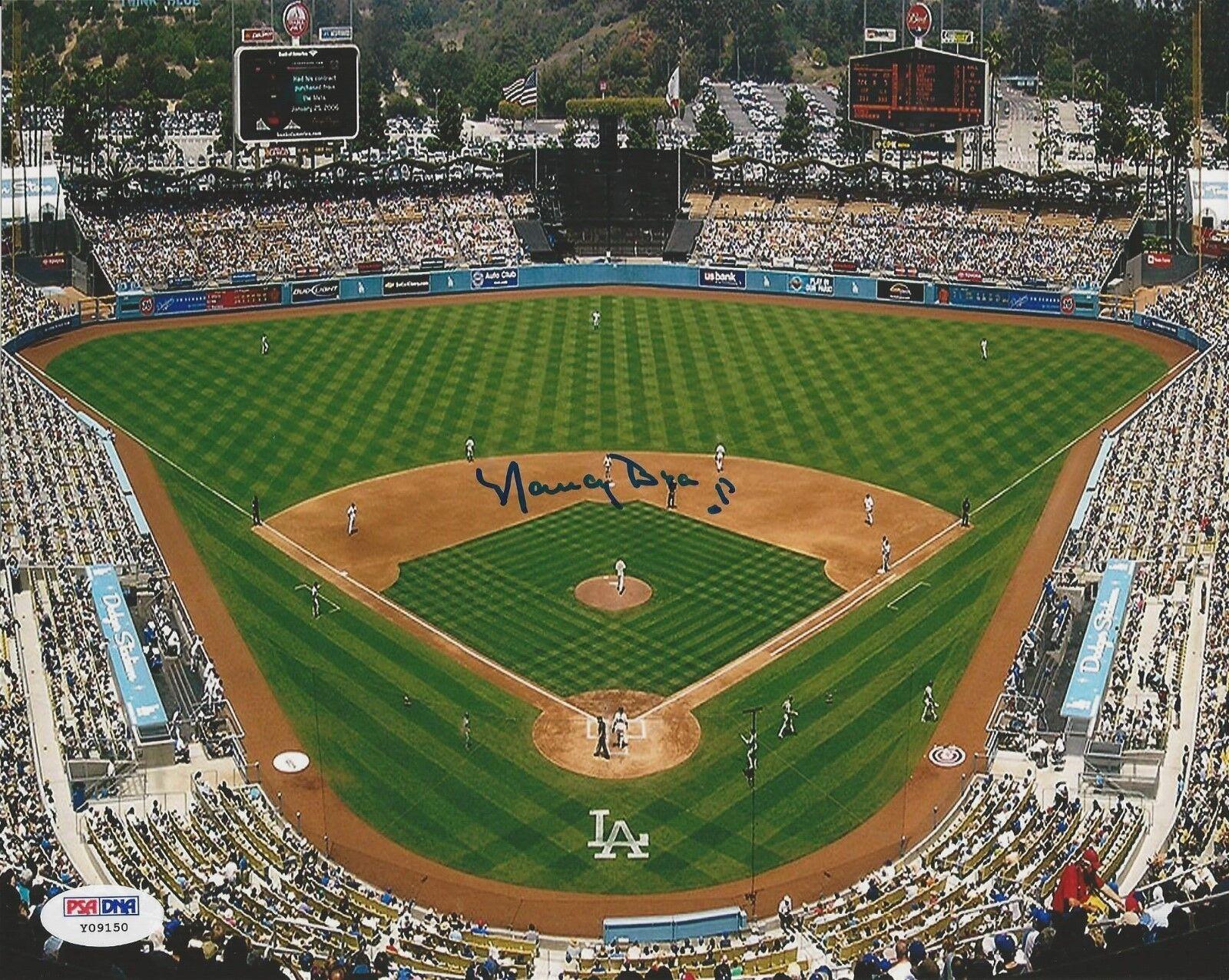 Nancy Bea Hefley Dodgers Stadium Signed 8x10 Photo PSA/DNA # Y09150