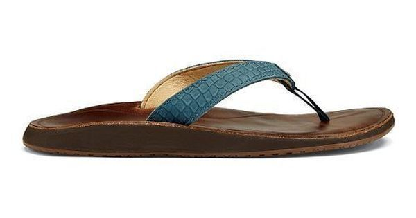 Olukai Pua Ocean Blue Flip Flop Sandal Women's sizes 5-11/NEW!!