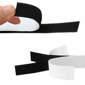 Black Hook and Loop Self Adhesive Fastener Strong Tape Hook and Loop Strip Tape