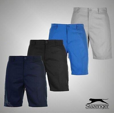 d79cdcbfb1 Mens Branded Slazenger Summer Lightweight Golf Shorts Pants Bottoms Size  32-40