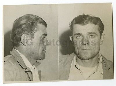 Humor Early 20th Century Mug Shots Pete Cronovich/burglary & Larceny 1947 Products Hot Sale