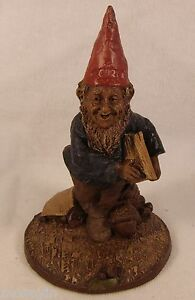 CROWELL-1984-Tom-Clark-Gnome-Figurine-Cairn-Studio-Item-1091-Retired-Ed-50-Story