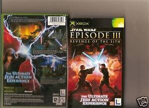 Starwars Revenge Of The Sith Xbox X Box 360 Star Wars Ebay
