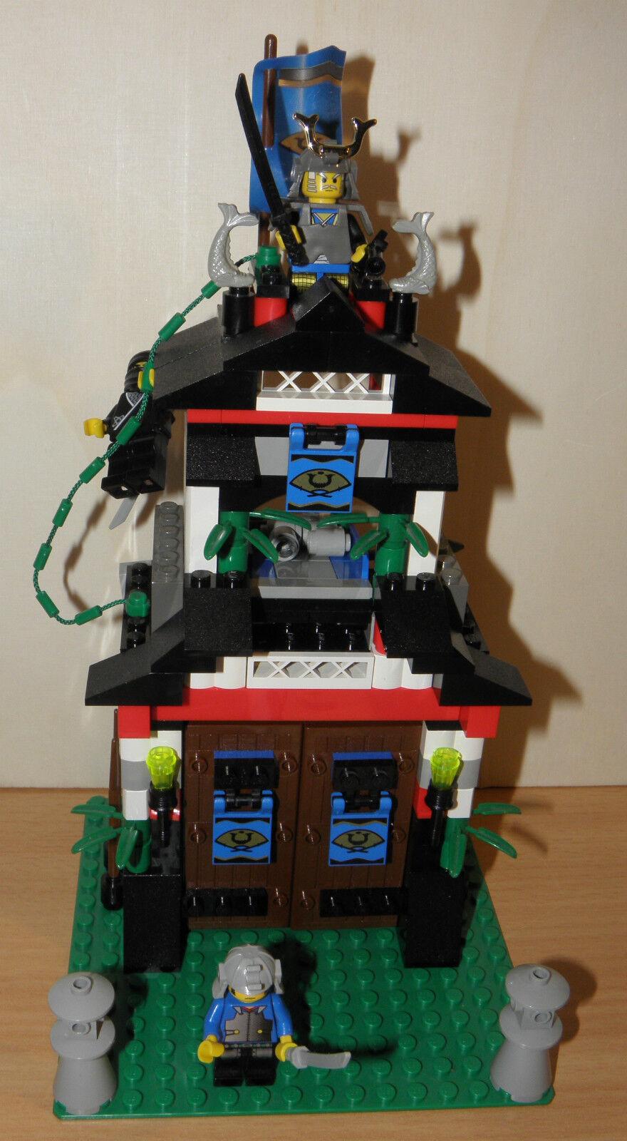 Lego System 6083 NINJA SHOGUNS FESTUNG Samurai Stronghold   100% komplett + BA
