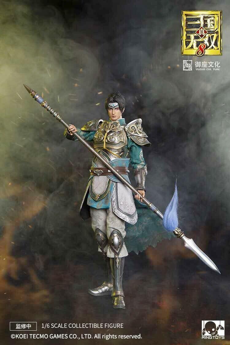 Ringgiocattoli 12  Dynasty Warriors Zhao Yun 1 6 6 6 Caliente Koei gioco bambola azione cifra Gift 940096