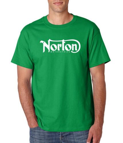 Norton Motorcycles T-Shirt Racing Logo Classique Sturgis Motard sur S-6XL Gildan tee