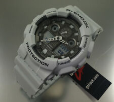 Ice Gray Casio G-Shock Ana-Digi XL Watch GA100LG-8A
