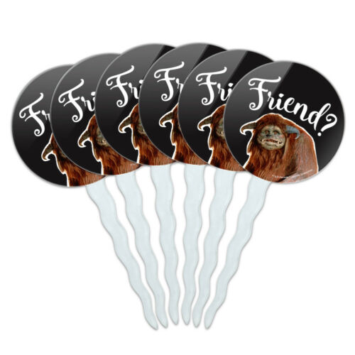 Friend Ludo From The Labyrinth Cupcake Picks Toppers Decoration Set of 6