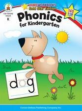 Home Workbooks: Phonics for Kindergarten, Grade K by Carson-Dellosa Publishing Staff (2010, Paperback)