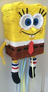 Detalles De Piñata Bob Esponja Cumpleaños Juguetes Fiesta Pinatas Ver Título Original